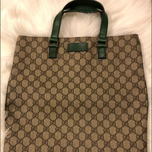 Authentic Gucci Coated Canvas 15x13